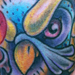 Owl with Candle Tattoo Original Art Thumbnail